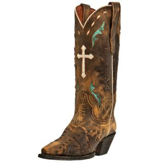 dan post anthem snip toe cowgirl boot tan style dp3621