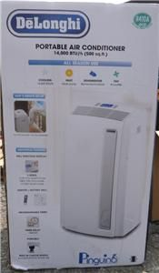 NEW DeLonghi Pinguino 14,000 BTU Portable Room Air Conditioner