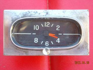 1958 Chevrolet Impala Belair Biscayne Delray Clock