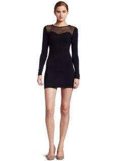 David Lerner Womens Long Sleeve Mesh Dress Size XS