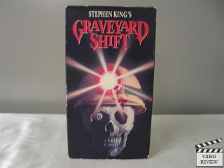 Graveyard Shift VHS David Andrews Kelly Wolf Stephen Macht Brad Dourif