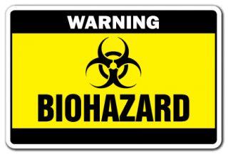 Biohazard Warning Sign Danger Signs Toxic Symbol Bio Radiation Medical