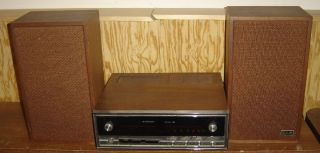 Vintage 1968 Voice of Music 1498 Deluxe 200 Stereo Receiver Amp Tuner