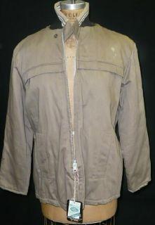 Vtg 50s Mens Car Coat Lee Leisure Wear Lakeland Clicker Jacket