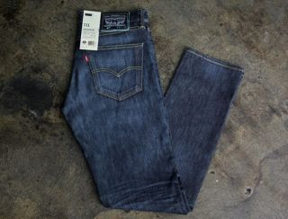 Nike SB x Levis 511 Slim Fit Skateboarding Jeans Apache Blue USA Team