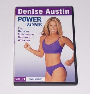 Denise Austin Power Zone Vol 2 Resistance Bands Toning Workout (2004