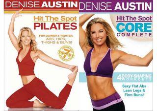 denise austin hit the spot core complete new dvd original title denise