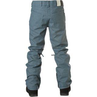 Remer Slim Fit Snowpants Mens Large DC Blue Snowboard Ski Pant