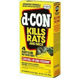 12 oz Boxes of D Con Ready Mix II Mouse Poison