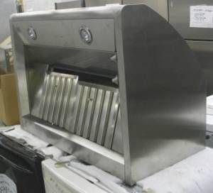 New 36 DCS Stainless Steel Range Hood Canopy w Warranty