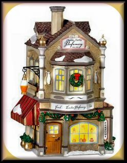 Charles Darby Perfumery New Department Dept 56 Dickens Village D56 DV