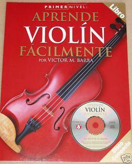 Metodo de Violin Primer Nivel Libro Con CD En Espanol