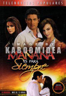Manana ES Para Siempre Telenovela 4 DVD English Subtitl