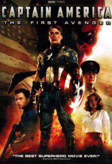 Captain America The First Avenger DVD 2011 Single Disc New SEALED DVD