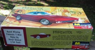 1965 Monogram Model Kit Darryl Starbird 1 24 Scale Thunderbird