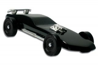 Black Magic Pinewood Derby Car Kit Mad Max Derby Monkey 4013