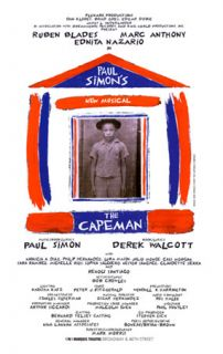 Broadway Poster Paul Simons Capeman Marc Anthony Sara Ramirez