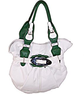 Designer Inspired Leather Handbag Purse Bag Belt Tote