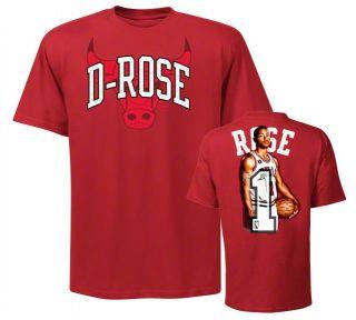 Chicago Bulls Derrick Rose Notorious Jersey T Shirt