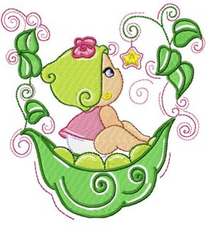 Sweetpea Baby 20 Machine Embroidery Designs Boys Ngirls