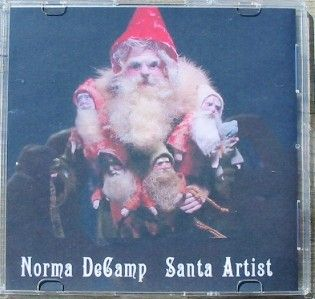 Christmas Norma Decamp Santa Belsnickle Artist DVD Slideshow 300