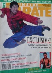 RARE 11 90 Karate Martial Arts Van Damme Sum Sungwoo