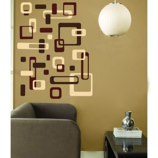 Squares Rectangles Modern Vinyl Wall Decal Decor Stickers 1