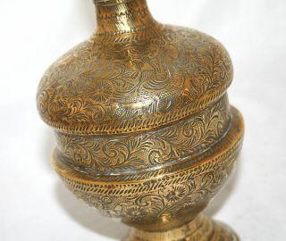 Antique Siamese Bronze Water Pitcher Jug 19th Century