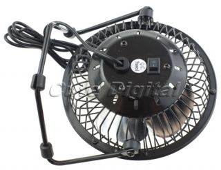 Portable Super Mute USB Metal Cooler Cooling Desk Fan