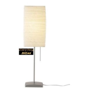 IKEA Unique Rice Paper Shade Table Lamp Desk Orgel Modern with Price