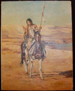 David Mann RARE Original Oil Painting Art Make OFFER