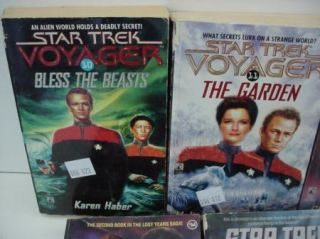 Lot Star Trek Science Fiction Voyager Deep Space 9 Free s H