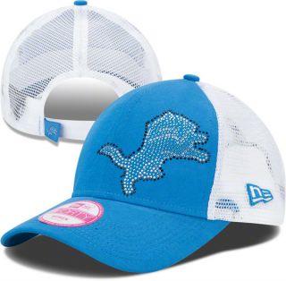 Detroit Lions Womens 9Forty Jersey Shimmer Adjustable Hat