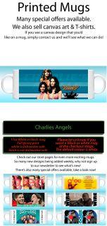 SA1 charlies angels mug / farrah fawcett / bosley