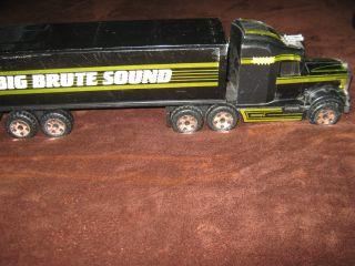 1989 Buddy L Big Brute Sound Kenworth Semi Truck 18 Wheeler 1983
