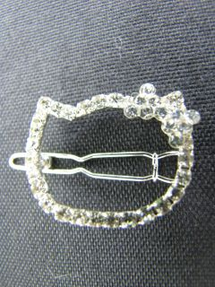 Hello Kitty Crystal Diamond Hair Clip