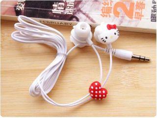Hello Kitty Diamond Studded Headphone Earphone for