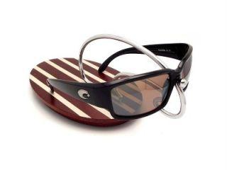 Costa Del Mar Caballito Black Silver Mirror 580 Glass New