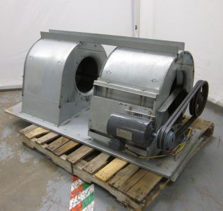 Dayton 4LX07G 19 Double Centrifugal Fan Squirrel Cage Blower 3 HP 3