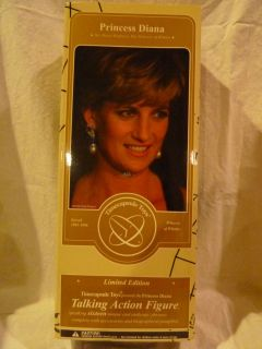PRINCESS DIANA Talking Doll, Timecapsule Toys, Toy Presidents Limited