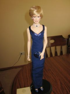 Princess Diana Porcelain Doll by Franklin Mint
