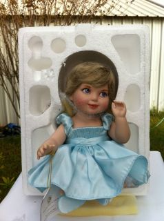 Franklin Mint Princess Diana Porcelain Baby Doll