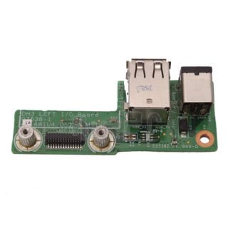 Dell XPS M1530 DC Power Jack DH3 Left I O Board 07538 1