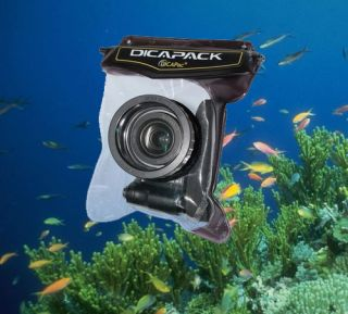 DICAPAC WATERPROOF UNDERWATER CAMERA MARINE HOUSING CASE WP H10