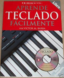 Metodo de Teclado Primer Nivel Libro Con CD En Espanol