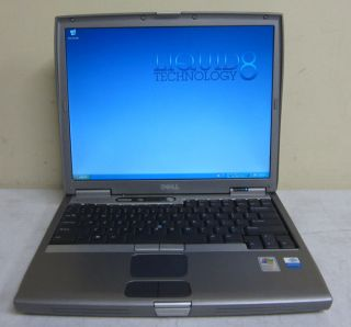 Dell Latitude D600 Pentium M 725 1 6GHz 512MB 60GB XP Home Laptop WiFi