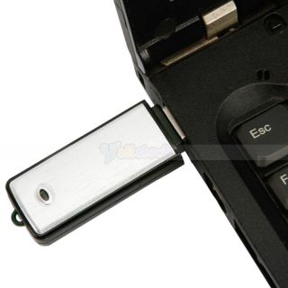 Voice Recorder Pen Dictaphones USB Flash Memory Disk Black