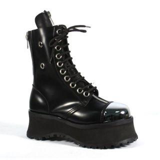 Demonia Pole Climber boots EUC goth punk rocker