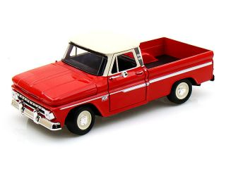 C10 Fleetside Pickup Truck Red Diecast Model Truck 1 24 Scale