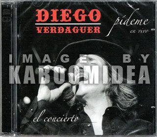 CD DVD Diego Verdaguer Pideme En Vivo New 2011 El Concierto Exitos